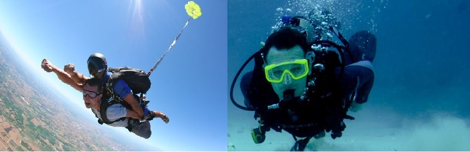 Sky-and-scuba-diving