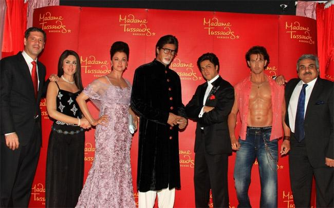 Five-Bollywood-Superstars-madametussad-Bangkok