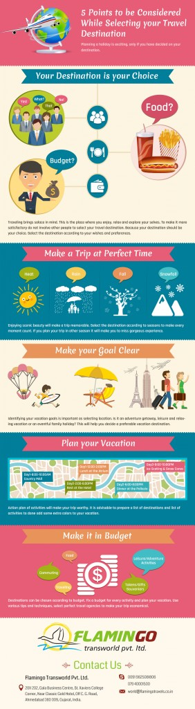 Travel Destination Infographic