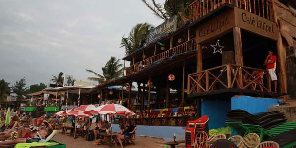 Luxurious resort in Goa